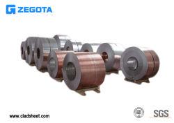 Hohes Ausbaufähigkeit-Kupfer-plattiertes hohes elektrische Leitfähigkeit-Stahlkupfer-plattiertes Metall