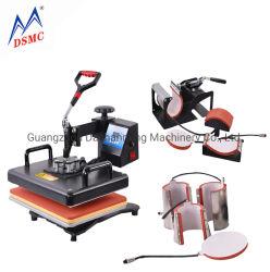 Содействие 30*38см 8 в 1 Combo нажмите кнопку нагрева машины высококачественный термосублимационный принтер 2D-передачи Tshirt кружке принтер