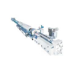 플라스틱 PE/PP/PVC/PPR 단일/이중 나사 골판형/나선형 도관 튜브 호스 코일링 권선 압출/압출기/절단 벨링 재활용 기계 제작