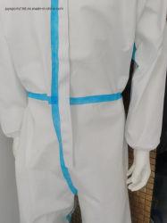 防護衣ファブリック(PP Non-woven+PE)