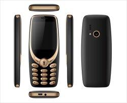 Preisgünstige 2,4 Zoll Dual SIM Dual Standby Funktion Tastatur Mobile Bar Phone 2g GSM-Taschenlampe Kamera