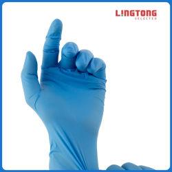 Examen de inspección de trabajo sin polvo Guantes de nitrilo sin látex
