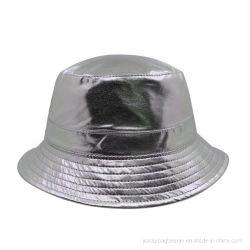 Reversible de la moda de cuero de PU de sarga de algodón cuchara Hat