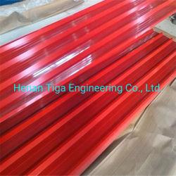 중국에서 Prepainted 직류 전기를 통한 강철 또는 금속 루핑 또는 클래딩 또는 판자벽 도와