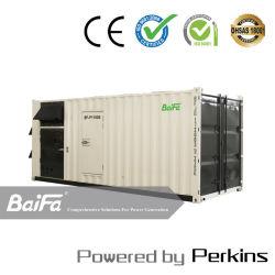 Используется на заводе высокого напряжения в 1100 квт Perkins дизельные электростанции дизельный двигатель мощность для продажи