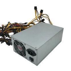 بيع ساخن بقوة 1600 واط مع دعم 8 وحدات معالجة رسومات لوحدة معالجة الرسومات Eth BTC وحدة التزويد بالطاقة المحددة