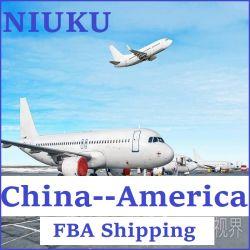 중국에서 까지 빠른 배달 도어 - 도어 항공 화물 미국