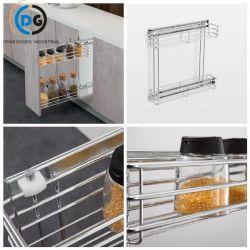 Küchenschränke 150 2-Tier Seite herausziehen Aufbewahrungskorb