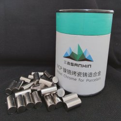 Nikkel Chroom Dental Alloy for Casting Porselein Dental Purpose Without Beryllium