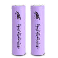 Energía Shengli 18650 Li-ion 3.7V 2000mAh Batería de litio Baterías con OEM/ODM