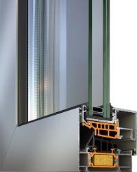 Garantia de alta qualidade com vidro duplo/triplo de liga de alumínio da estrutura porta/janela