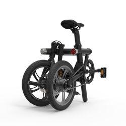 5 FE 7ah adjoint de la pédale de 16 pouces Smart pliable vélo électrique pliant avec voyants