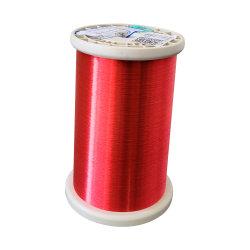 Súper fino de cobre esmaltado de la clase de alambre redondo 130 instrumento eléctrico de la bobina bobinado