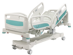 5 Ce FDA avanzada función de Calidad ISO de la ICU eléctrica cama de hospital