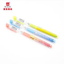 La penna liscia della penna dell'acqua liquida diritta di scrittura può cambiare la convenienza di pulizia del sacchetto di inchiostro