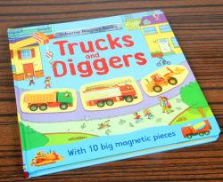 L'apprentissage précoce des jouets magnétiques exotiques des blocs de construction livre puzzle Jeu pour Enfants