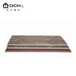 Nenhuma corrosão decoração impermeável painel laminado HPL para mobiliário