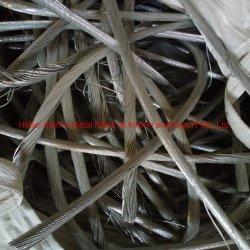 Limpiar el reciclaje de chatarra de cable de aluminio para la venta