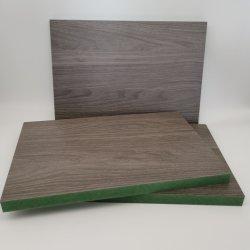 가구 급료 자연적인 베니어 또는 멜라민에 의하여 박판으로 만들어지는 HDF/MDF 널