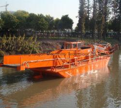 De grote Maaimachine van het Onkruid van de Grootte Aquatische/het Schoonmakende Schip van de Rivier
