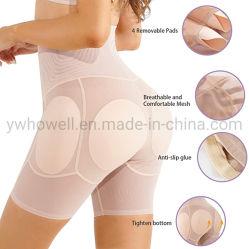 Taille haute souleveur de pieds de shorts haut de cuisse transparente Shapewear culotte ventre Organisme de contrôle Shaper ceinture