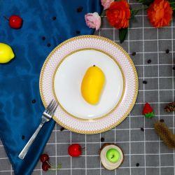 Lamina piana sicura di vetro opalino del forno a microonde con la decalcomania