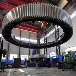 Цементная промышленность литой стальной венцовой шестерни