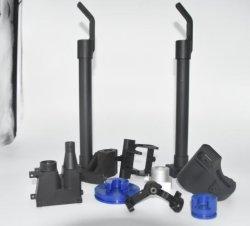 주문을 받아서 만들어진 정밀도 5개의 축선 CNC 금속 기계장치 예비 품목