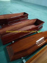 Caixão de madeira Paulownia Alimentação da China