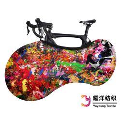 Bike tampa do protector de estiramento elásticas Anti-Dust rodas de bicicletas cobrir Impressão a Cores Scratch-Proof Aluguer cobrir
