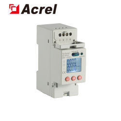 Acrel Adl100-Et/CF 10 (60) RS485 Modbusのマルチ税率のDINの柵エネルギーKWHのメートルを測定するAC 220V単一フェーズ実行中の肯定的な反応エネルギーSubentry