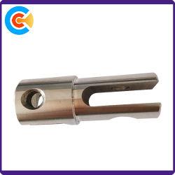 Tornio materiale di CNC della parte di metallo di precisione SS304 che elabora Pin
