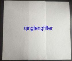 Flux à haut débit en fibre de verre plissé du filtre à membrane de papier pour l'huile et la séparation du gaz