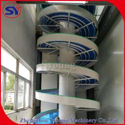 Spirale verticale de l'Élévateur Convoyeur à vis de levage de prix pour la case Traitement du carton