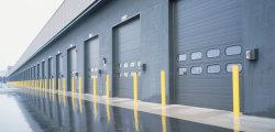 Exterior Indutrial transversal de Içamento Suspenso motorizado exterior da porta da garagem