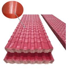 Royal/ASA de style espagnol tuiles de toiture en PVC//Tejas