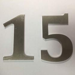 La publicité en acier inoxydable métalliques personnalisées Lettres Logo