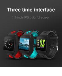Smartwatch Bluetooth Timethinker W1 de la pression artérielle étanche IP68 moniteur de fréquence cardiaque ressemble ionique Fitbit