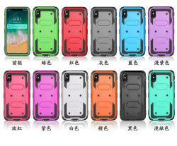 2018 Commerce de gros L'étui Clip ceinture béquille couvercle de boîtier de Téléphone pour iPhone x