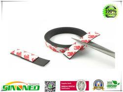 Aimant puissant anisotrope bande magnétique de la bande avec le premier Adhésif collant - idéal 1 po x 10 pieds rouleau magnétique pour l'artisanat et des projets de bricolage