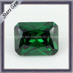 6*8mm Hot Sale couleur émeraude de diamant synthétique