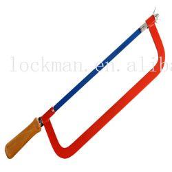 Воспользуйтесь ножовочным полотном ручки из алюминия или деревянной рамы