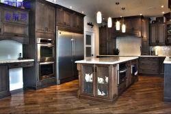 De style européen de meubles de cuisine en bois massif