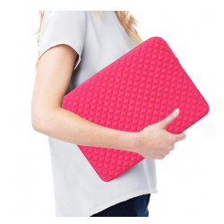 La Chine a fait Diamond style de couverture du manchon d'ordinateur portable sacoche pour ordinateur portable en néoprène