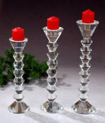 ロウソクの装飾の蝋燭ホールダーと結婚する方法水晶Candelabra