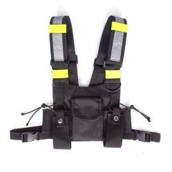 Radiografia de tórax do chicote do airbag torácico dianteiro portátil Pack Bolsa carretas de Bolsa de Listra fluorescente Para Rádio de Duas Vias Walkie-talkie13169 ESG