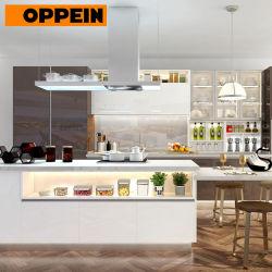 La Chine Oppein Fabricant Combinaison de couleurs modernes série complète de meubles de cuisine (OP18-T01)