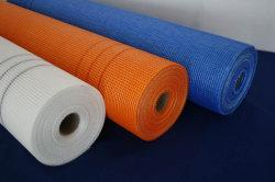Tipos de buena calidad de 75gr álcali resistente de malla de fibra de vidrio.