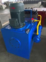 A bomba hidráulica e o cilindro para máquina de tijolo
