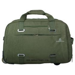 Valise Trolley, BAGAGES Sac, Sac de voyage de Sports (MH-2111 armée de terre vert)